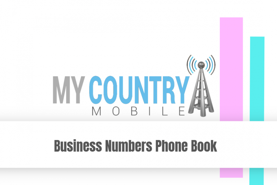 Business Numbers Phone Book - My Country Mobile